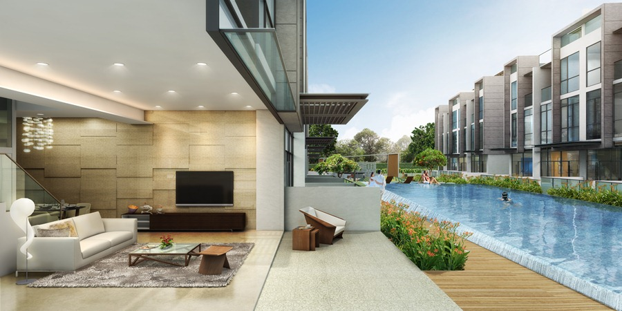 Belgravia Villas Terrace & Swimming Pool